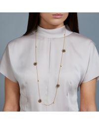 Astley Clarke - Metallic 18ct Gold Vermeil Long Calypso Woven Nugget Necklace - Lyst