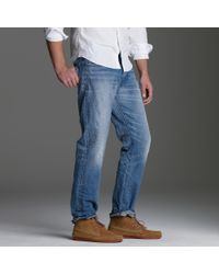 J.Crew | Blue Straight-fit Jean In Light Indigo Wash for Men | Lyst