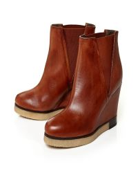 Moda In Pelle | Brown Carlona High Casual Short Boots | Lyst