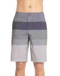 Rip Curl - Black 'mirage Classics Boardwalk' Colorblock Shorts for Men - Lyst