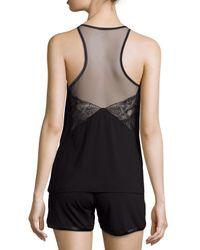 La Perla - Black Serenade Short Two-piece Pajama Set - Lyst