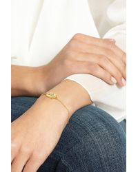 Pippa Small - Metallic 18-Karat Gold Multi-Stone Bracelet - Lyst