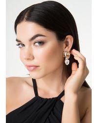 Bebe | Multicolor Jaguar Earrings | Lyst