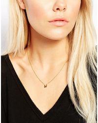 Gorjana   Metallic Lol Necklace   Lyst