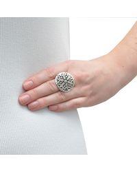 The Wildness Jewellery - Metallic Mandala Flower Ring - Lyst
