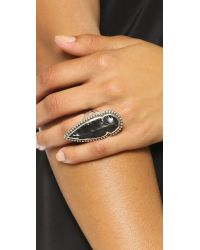 Pamela Love | Black Arrowhead Ring | Lyst