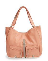 Big Buddha | Pink Jana Faux-Leather Hobo Bag | Lyst