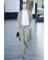 Jason Wu - Natural Crepe-Cady Trench Coat - Lyst