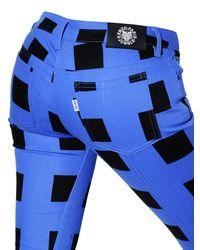 KENZO Blue Stretch Cotton Denim Jeans