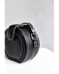 Urban Outfitters Black Mini Canteen Crossbody Bag