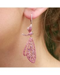 Wendy Yue | Pink Dragonfly Earrings | Lyst