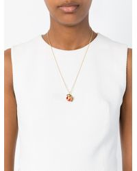 True Rocks - Red Globe Pendant Necklace - Lyst