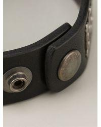 DSquared² | Black Studded Bracelet for Men | Lyst