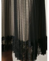 Christopher Kane | Black Pleated Tulle Skirt | Lyst