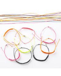 Myriamsos - Friendship Bracelet Orange - Lyst