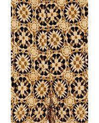 N°21 - Metallic Patrizia Brocade Pant - Lyst