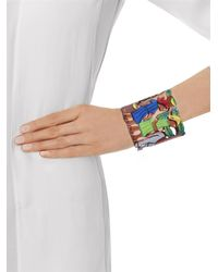 Stella Jean | Gray Haiti-Women Cut-Out Cuff | Lyst