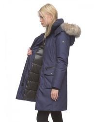 Andrew Marc - Blue Jamie Quilted Down Jacket  - Lyst
