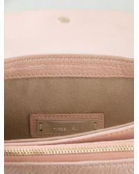Jimmy Choo Pink Large 'Shadow' Shoulder Bag