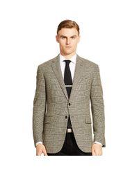 Ralph Lauren Black Label - Black Nigel Plaid Wool Sport Coat for Men - Lyst