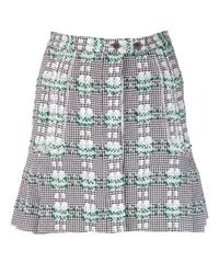 Thom Browne Green Embroidered Skirt