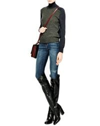 Laurence Dacade Silas Knee-high Leather Boots In Black