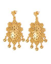 Paula Mendoza | Metallic Tagus Earrings | Lyst