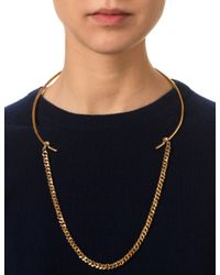 Bjorg | Metallic Gold The Lucid Dream Necklace | Lyst