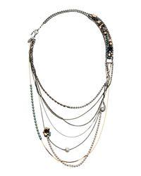 Iosselliani | Metallic Necklace | Lyst