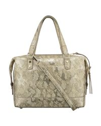 Nine West | Natural Off The Chain Satchel | Lyst