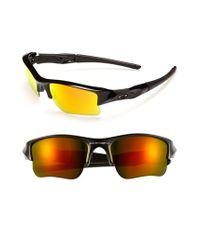 560aaaafa0 Lyst - Oakley  flak Jacket Xlj  63mm Sunglasses - Polished Black in ...