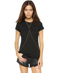 Gorjana | Metallic Nina Body Chain - Gold Matte | Lyst