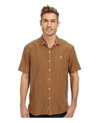 Tommy Bahama - Orange New Gregory Check S/s for Men - Lyst
