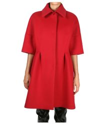 Albino - Red Wool Coat - Lyst