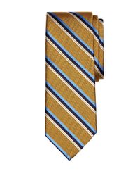 Brooks Brothers | Metallic Herringbone Sidewheeler Stripe Tie for Men | Lyst