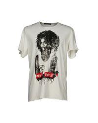 Reception White T-shirt for men
