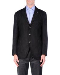 Lardini Black Blazer for men