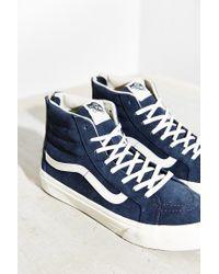 Vans | Blue Sk8-hi Scotchgard Slim Sneaker | Lyst