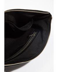 Forever 21 - Black Embossed Convertible Crossbody Bag - Lyst