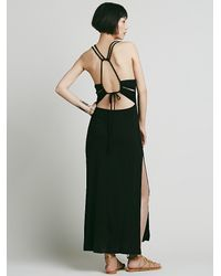 Free People - Black Womens Island Girl Maxi - Lyst