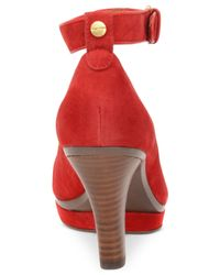 Söfft | Red Manhattan Pumps | Lyst