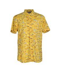 Scotch & Soda Yellow Shirt for men