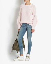 Exclusive For Intermix Raglan Sleeve Knit: Pink