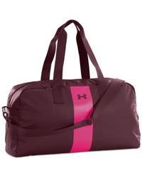 Under Armour | Purple The Bag Duffel | Lyst