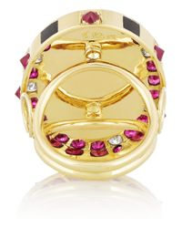 Holly Dyment | Pink Sunday 18karat Gold Multi Stone Ring | Lyst