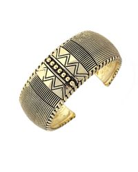 BCBGeneration | Metallic Mega Cuffs Textured Zigzag Bracelet | Lyst