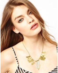 ASOS - Metallic By Ea Burns Exclusive For Asos Kirungu Burst Necklace - Lyst