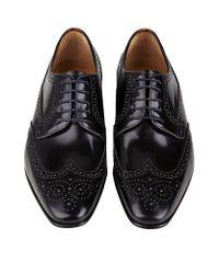 Paul Smith - Black Aldrich Leather Derby Shoe for Men - Lyst