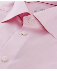 Eton of Sweden - Pink Contemporary Fit Plain Shirt for Men - Lyst