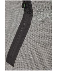 BOSS Green | Gray Sweater 'zem' In Wool Blend for Men | Lyst
